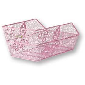 Basil Cento Flower Panier pour roue arrière, pink